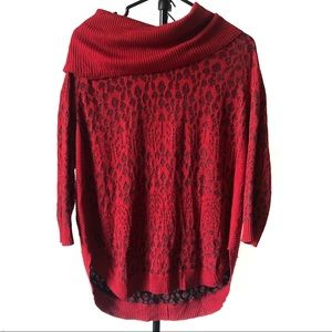 Kim Rogers Women's Cowl Neck Sweater  | Size- M